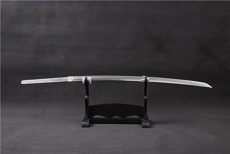 Carbon Steel Bare Blade Full Tang Unokubitsukuri For Japanese Sword Katana