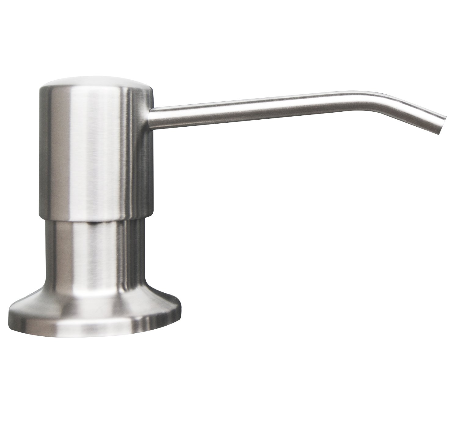 candyhome stainless steel kitchen sink countertop soap dispenser