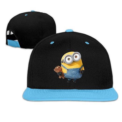 Amazon.com  Minions Bob Customized Adjustable Baseball Hat for Girl ... c5a4c565c225