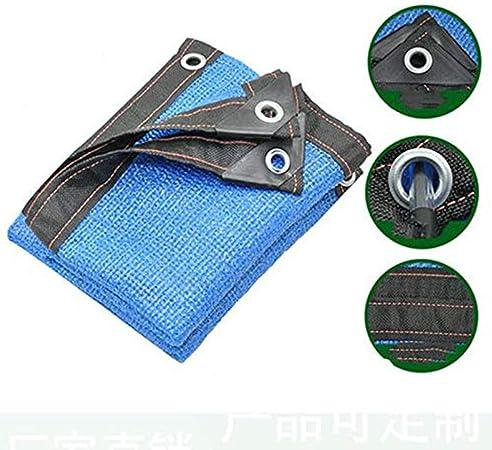 Blue Shade - Red de protección Solar, Tela para Patio, Tela de protección Solar Resistente a los Rayos UV para Cubrir Plantas, Invernadero, pérgola para jardín, Techo Exterior,4 * 5m: Amazon.es: Hogar