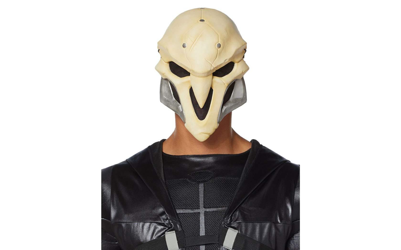 Overwatch Reaper Deluxe Foam Mask White