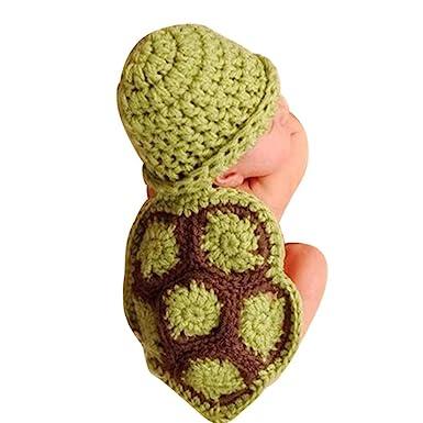 Baby Mütze Bovake Baby Girl Boy Newborn Schildkröte Stricken