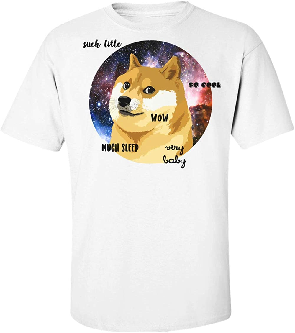 Finest Prints Very Doge Such Sleep Very Baby Wow Camiseta para Hombre XX-Large: Amazon.es: Ropa y accesorios