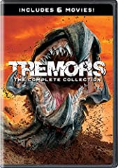 Get ready for the cult classic fan-favorite phenomena with all six actionpacked Tremors films available together in Tremors: The Complete Collection. Relive the adventures with Graboid-hunting Burt Gummer (Michael Gross) as he battles the omi...