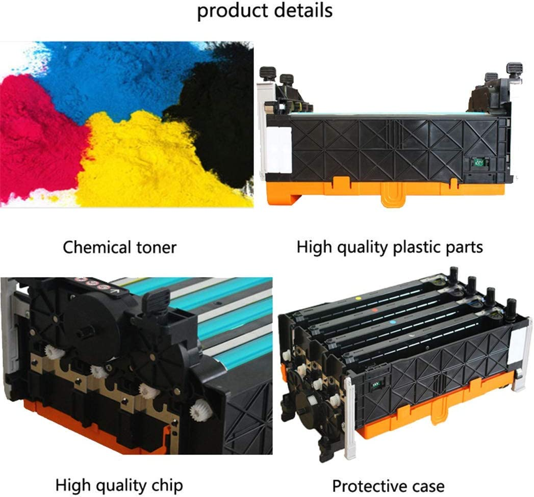 Compatible Fuji Xerox CP305d CM305df Toner Cartridge Suitable for Xerox CT350876 Photosensitive Drum Kit Four-Color Set with Carrier