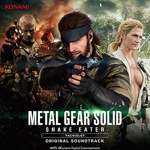 「PACHISLOT METAL GEAR SOLID SNAKE EATER」ORIGINAL SOUNDTRACKの商品画像
