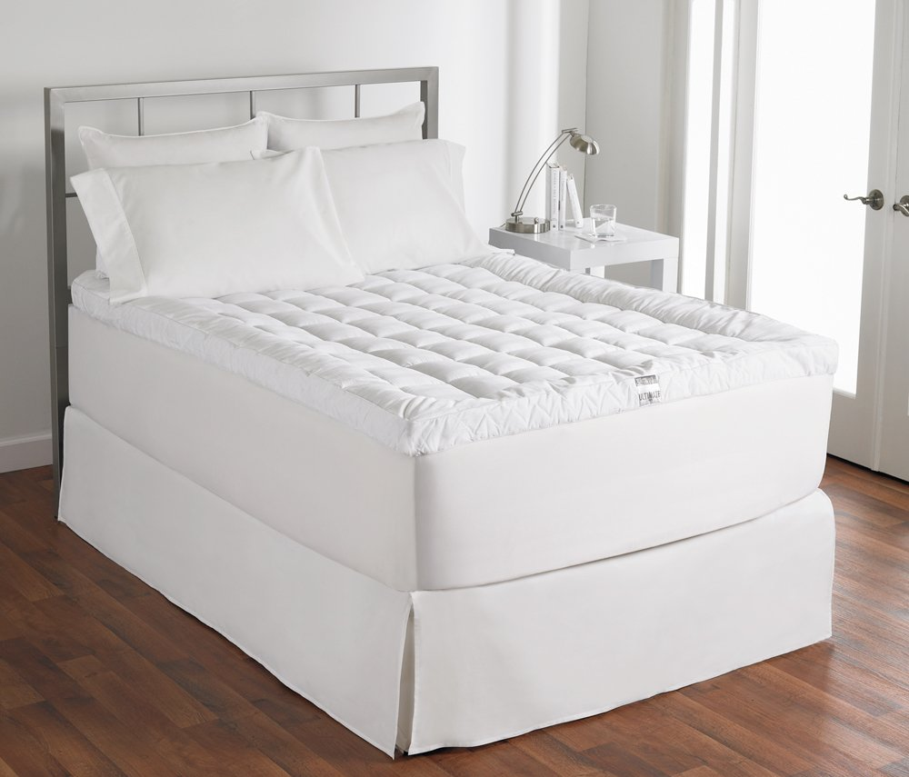 amazon com live comfortably cuddlebed down alternative mattress