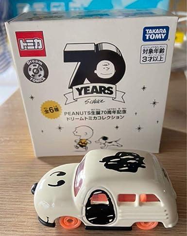 70 スヌーピー 周年 トミカ スヌーピーの70周年記念限定セミB5ノート5冊セット♡発売中!!