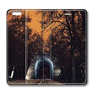 iCustomonline Armenia Yerevan Railway Park PU Leather Flip Cover Case for iPhone 6 Plus( 5.5 inch)