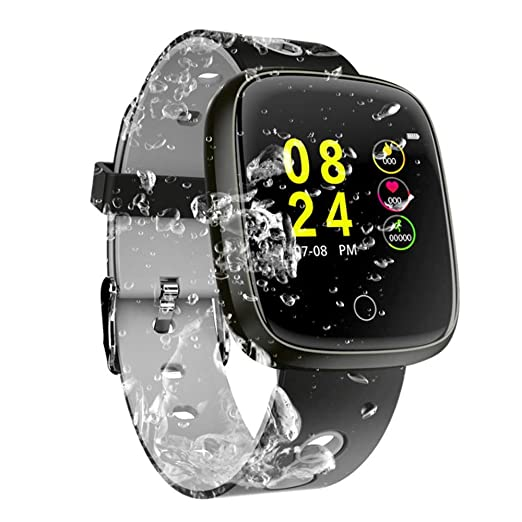 HUWAI-F Sport Fitness Tracker, Bluetooth Smart Watch Pantalla ...