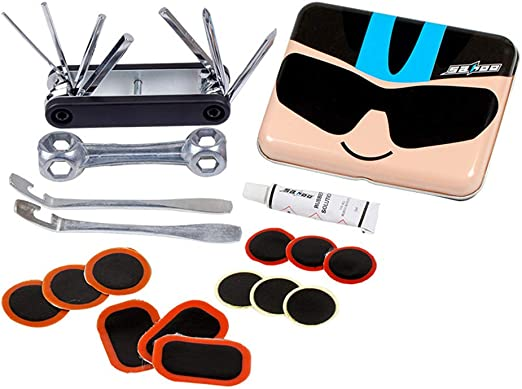Kit de herramientas de reparación de bicicletas Multi-funcional ...