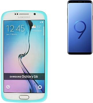 Para Samsung Galaxy S9 Duos Silicona Bumper de TPU turquesa/azul Protección Marco Anillo Smartphone Case Carcasa para Samsung Galaxy S9 Duos – K de S de Trade (TM): Amazon.es: Electrónica