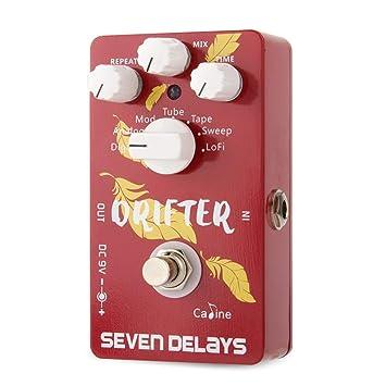 CP-37 SEVEN DELAYS - Pedal de efectos de guitarra con circuito digital: Amazon.es: Instrumentos musicales