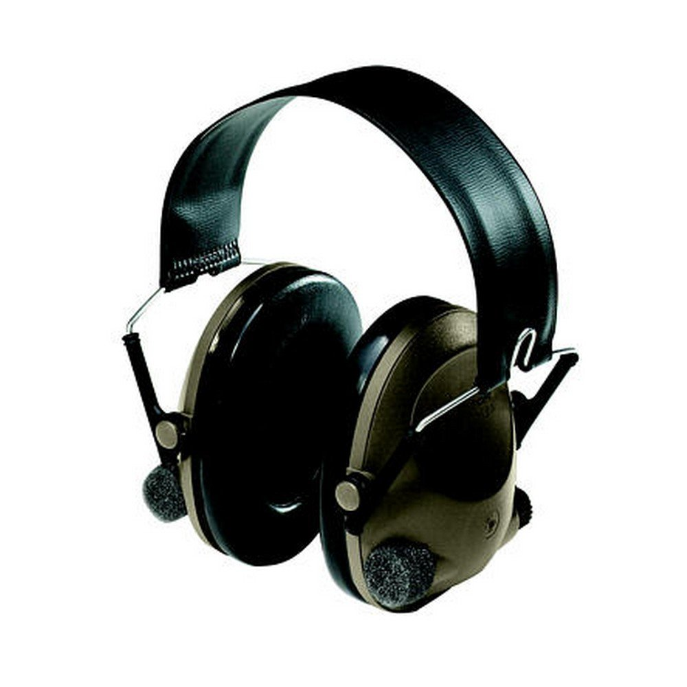 3M 07318640002401 Peltor Sound-Trap Slimline Earmuff, Standard, Black