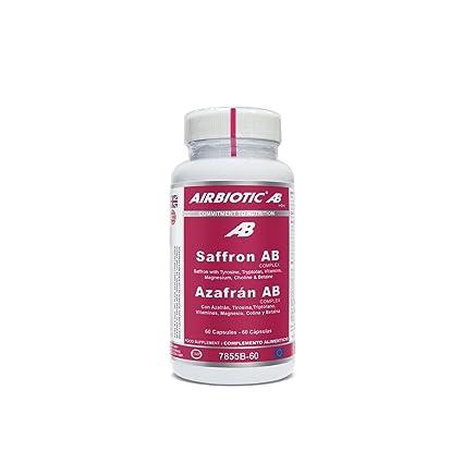 Airbiotic AB - Azafrán AB Complex - Hierbas, Suplementos para Ansiedad y Estado de Ánimo
