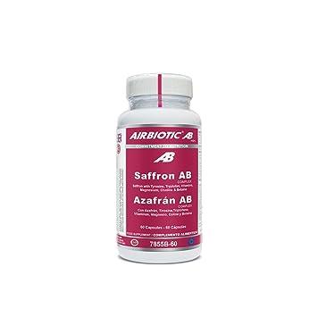 AIRBIOTIC AB - Azafrán AB Complexo Hierbas, Suplementos para Ansiedad y Estado de Ánimo, 60 cápsulas: Amazon.es: Salud y cuidado personal