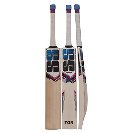 SS Super Power English Willow Cricket Bat  Color May Vary
