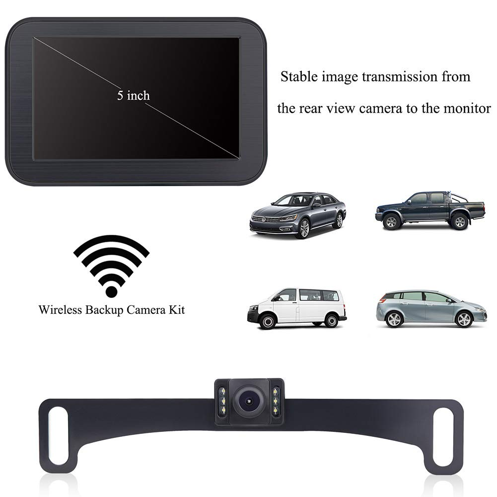 Svtcam Sv 7019l License Plate Mount Rear View Backup Camera Amazon Plcm18bc Wiring Diagram Electronics