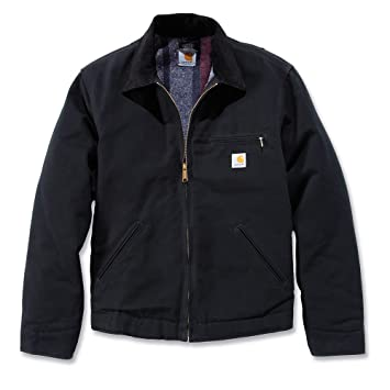 aab1b5fa1630a Carhartt Mens Duck Detroit Adjustable Duck Shell Jacket Coat: Amazon ...