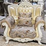 European Style Sofa Pad/Four Seasons Common Sofa Towel/Fabrics ,Wood Sofa Towel/Anti-skid Leather Sofa Sets-B 85x120cm(33x47inch)