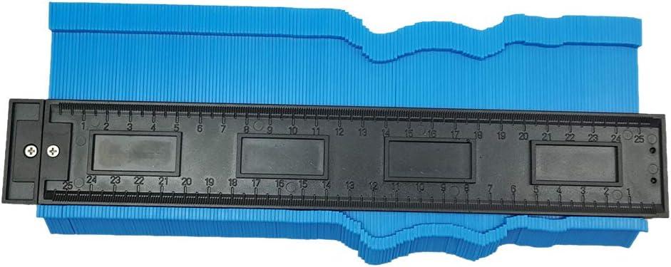 Doolland Copieur de contour id/éal pour les sols stratifi/és 20 inch//50cm Rouge