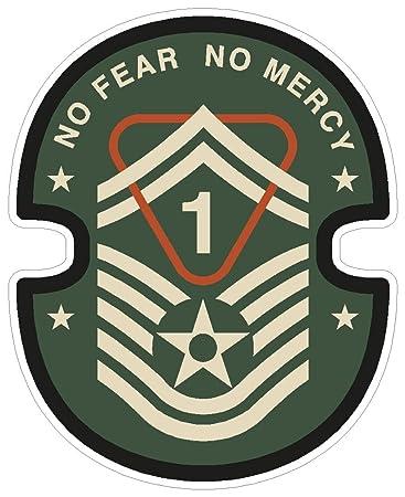 Amazon Military No Fear No Mercy Guns Army Symbol Love Humor
