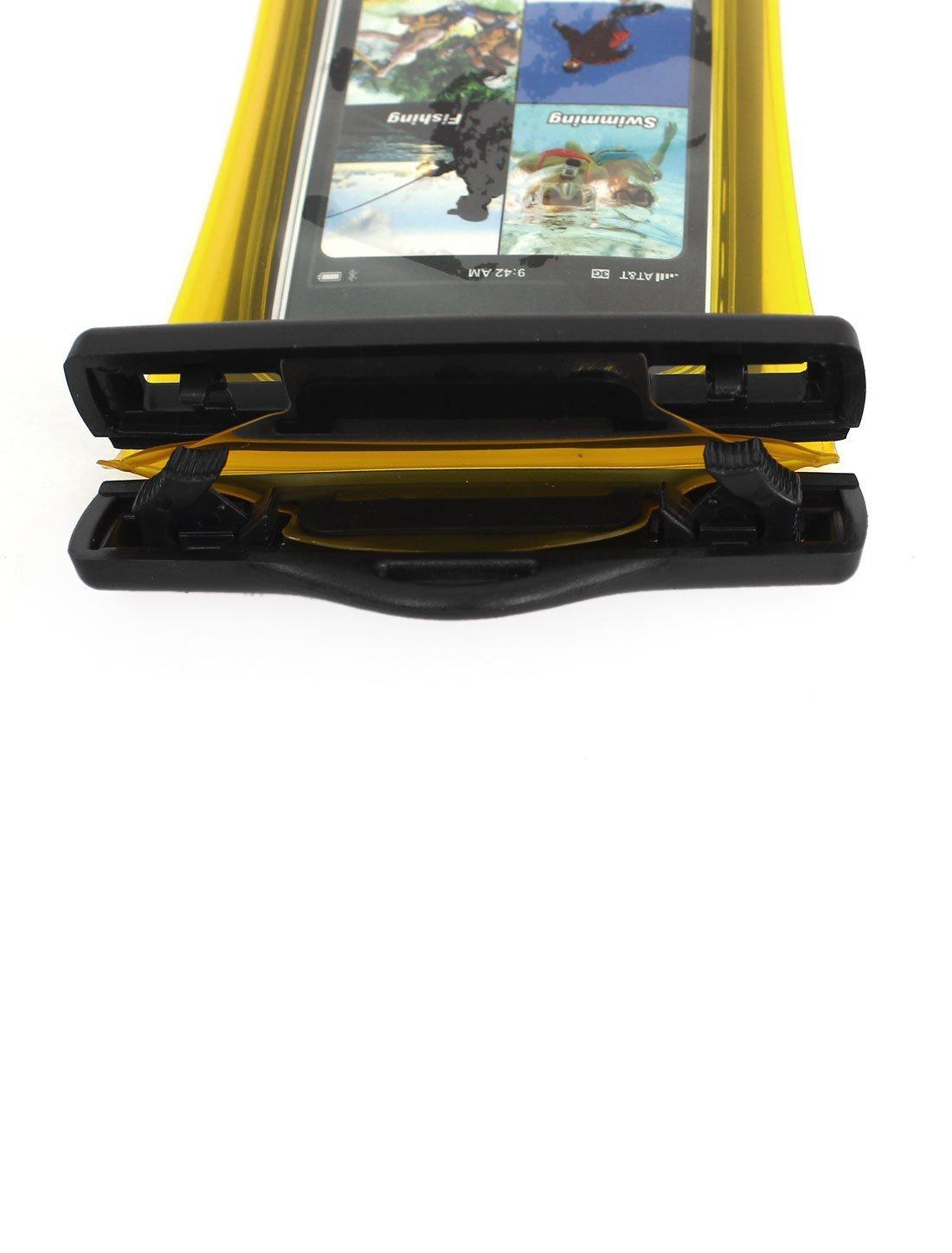 Amazon.com : eDealMax Teléfono celular impermeable del bolso seco Protector cubierta de la caja Amarillo claro : Sports & Outdoors