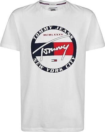 c3a2160e13 Tommy Jeans Men s Circle Graphic T-Shirt