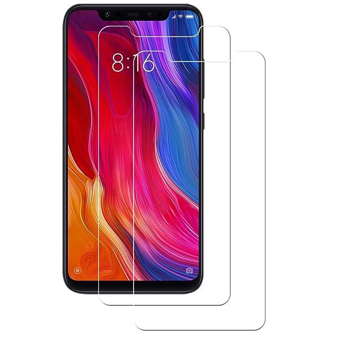 16 opinioni per POOPHUNS 2 Pezzi Xiaomi Mi 8/Xiaomi Mi 8 PRO Pellicola Protettiva Vetro