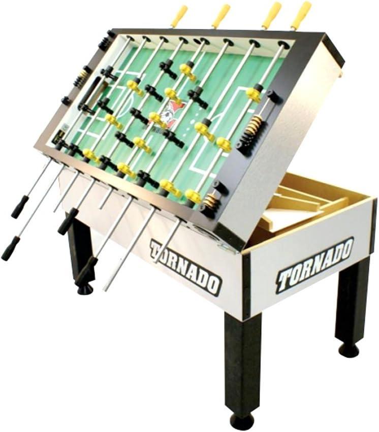 Tornado torneo 3000 futbolín mesa con libre accesorio Bundle ...