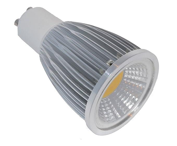 Pack de 5 Bombillas LED, 120º, GU10, 12W, 220 Volts, 1050
