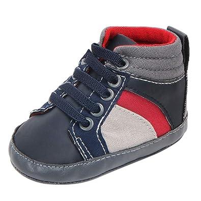 9ca22d4e6c464 Angelof Bandage Basket Couture De Couleur - Imprimé Les Semelles Chaussures  Confortables Fille GarçOn BéBé Unisexe