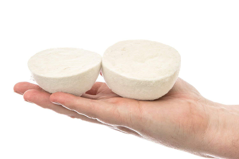 Dryer Balls Laundry Wrinkle Fabric Balls for Dryer Natural Dryer Softener Oil Dryer for Home Gift Set (6 PACK -2.9'') by LTLKY (Image #8)