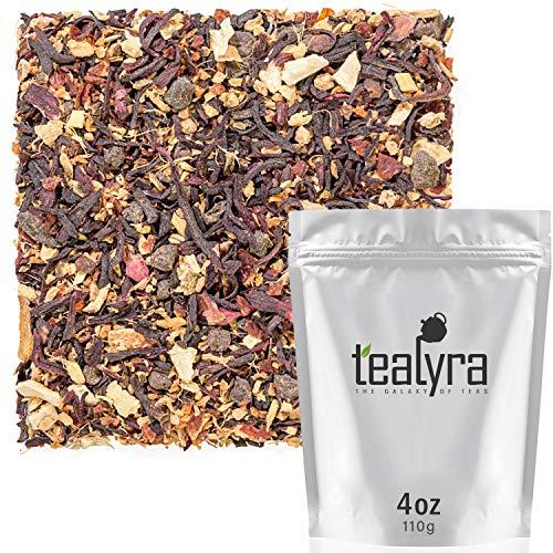 Tealyra - Ginger Treasure - Herbal Fruity Loose Tea - Immuni