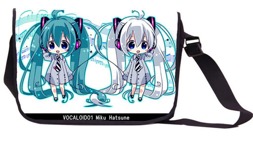 Siawasey Anime Hatsune Miku Vocaloidコスプレハンドバッグメッセンジャーバッグバックパックショルダーバッグ B071VX3LCM