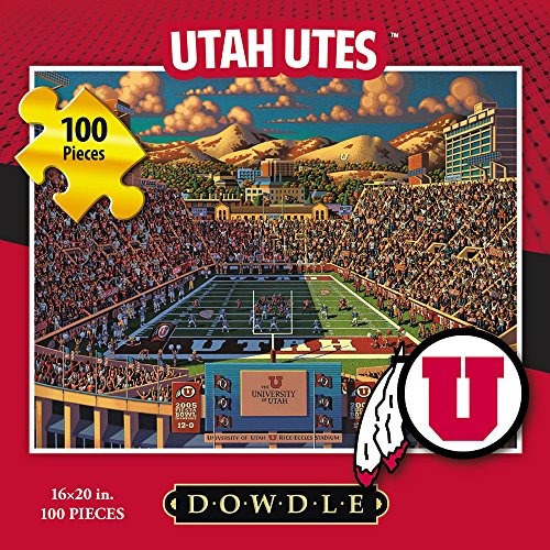 Jigsaw Puzzle - University of Utah Utes-U of U-100 Pc By Dowdle Folk Art