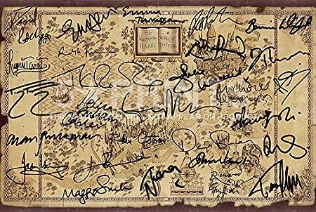 Harry Potter Wizarding World Cast Signed Poster Photo J.K Rowling ...