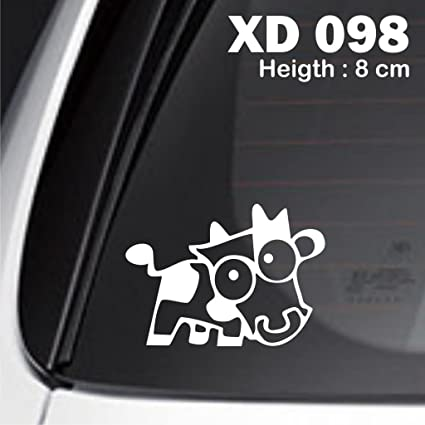 5x cow jdm car enthusiast nos vezel eudm jdm euro sticker racing decal lower turbo fast