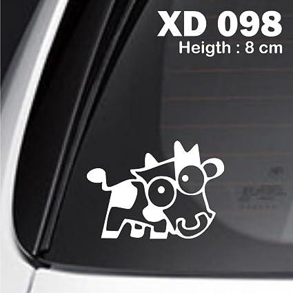 5x cow jdm car enthusiast nos vezel eudm jdm euro sticker racing decal lower turbo fast