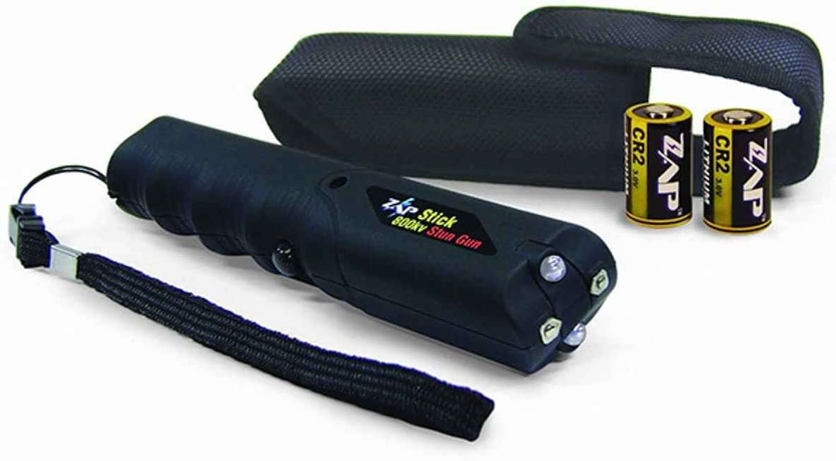 Capcom 9004995 PS Products Zap Stick Flashlight 800000V Black