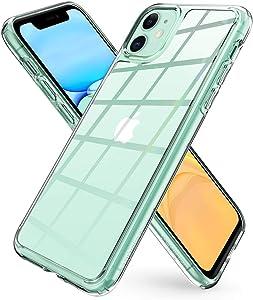 Spigen Quartz Hybrid Designed for iPhone 11 Case (2019) - Crystal Clear