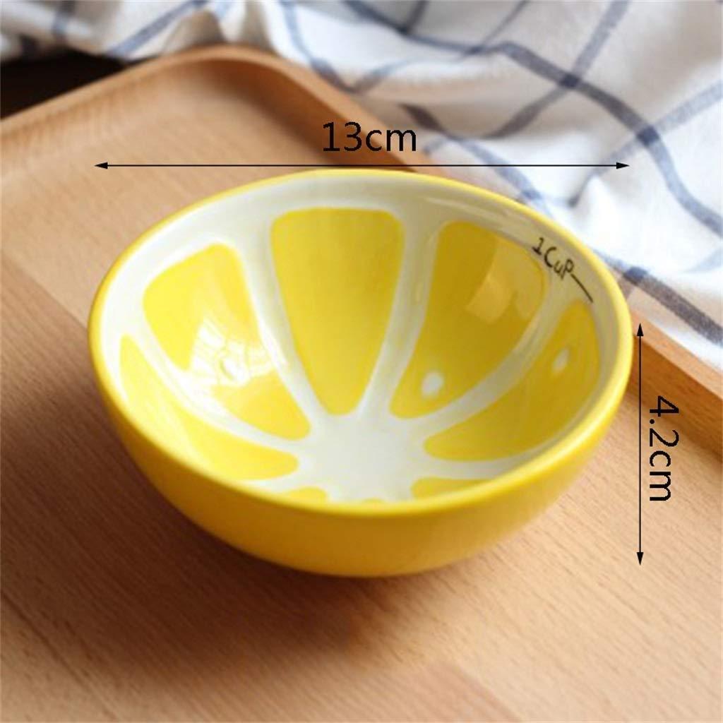 ACZZ Tazón de sandía Tazón pequeño y fresco para el hogar Precioso ...