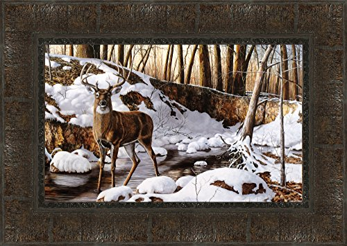 Midwest Art & Frame River Bottom Buck by Jim Hansel Frame (Bottom Buck River)