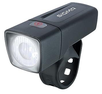 Sigma Sport Led Batterie Fahrradbeleuchtung Aura 25 25 Lux Batteriebetriebene Fahrradlampe Stvzo Zugelassen Schwarz