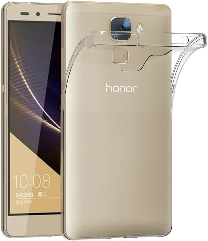 AICEK Funda Honor 7, Huawei Honor 7 Funda Transparente Gel ...