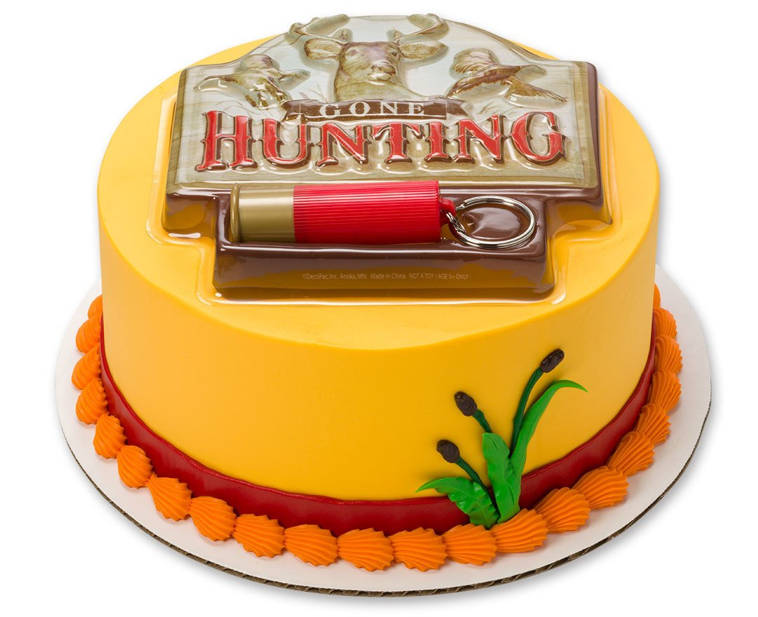 Amazon.com: Gone Hunting Bullet Keychain Cake Decoration Kit ...