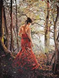 Lady in the Woods Made with Glass & Marble Mosaic ON Sale