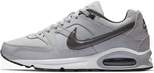 the latest 7f4ec 0291b Nike Men s Air Max Command Leather Running Shoes, (Wolf MTLC Dark  Grey Black White 012), 13 UK  Amazon.co.uk  Shoes   Bags