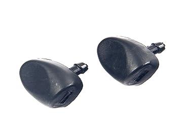 TS comercio 2pcs parabrisas limpiaparabrisas agua Spray Jet Arandela Boquilla: Amazon.es: Coche y moto