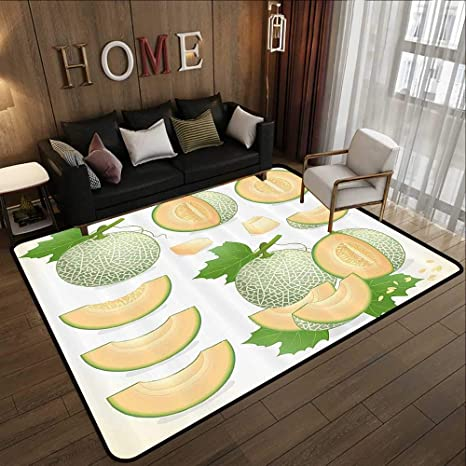 Cool Avocado Comfy,Anti-Slips,Bath Living Room Kitchen Outside,Floor Mats Rug Pads Carpet